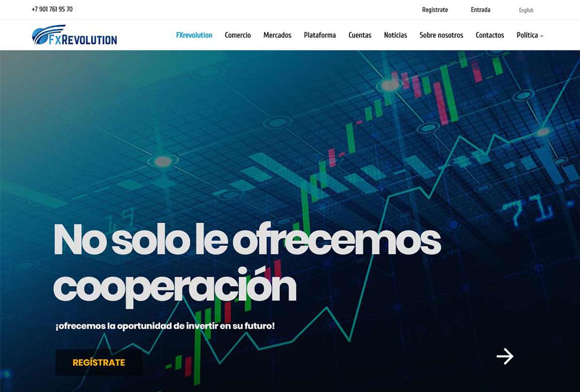 FXRevolution: página web