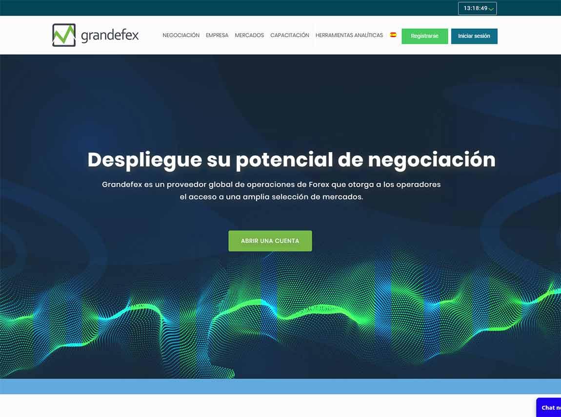 Grandefex: página web