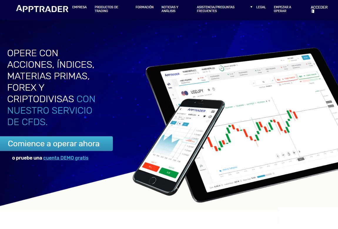 AppTrader: página web