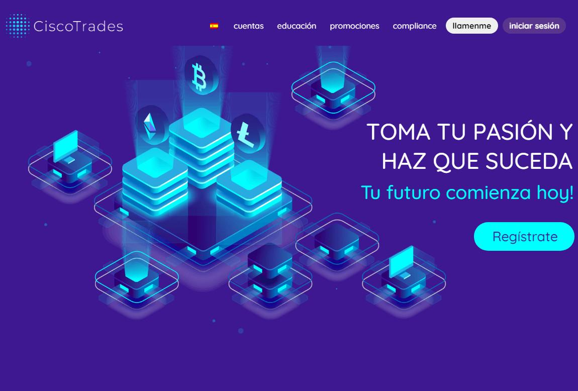 Ciscotrades: página web