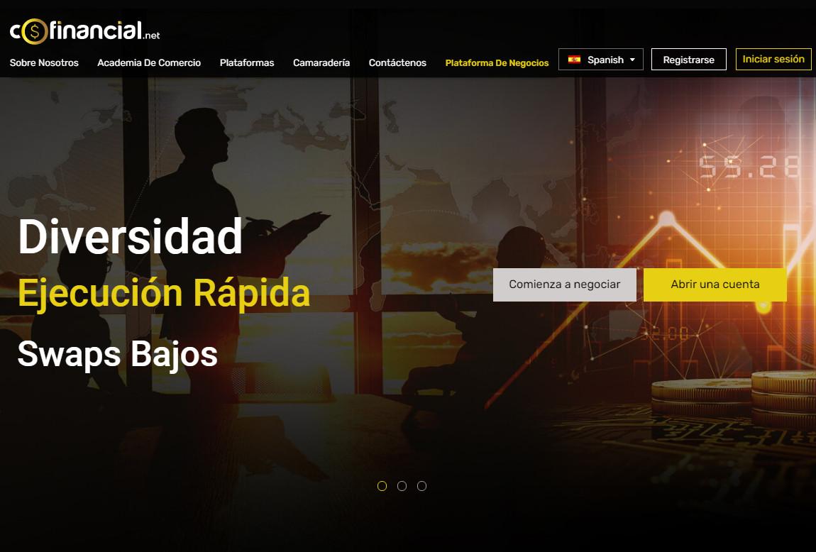 Cofinancial: página web