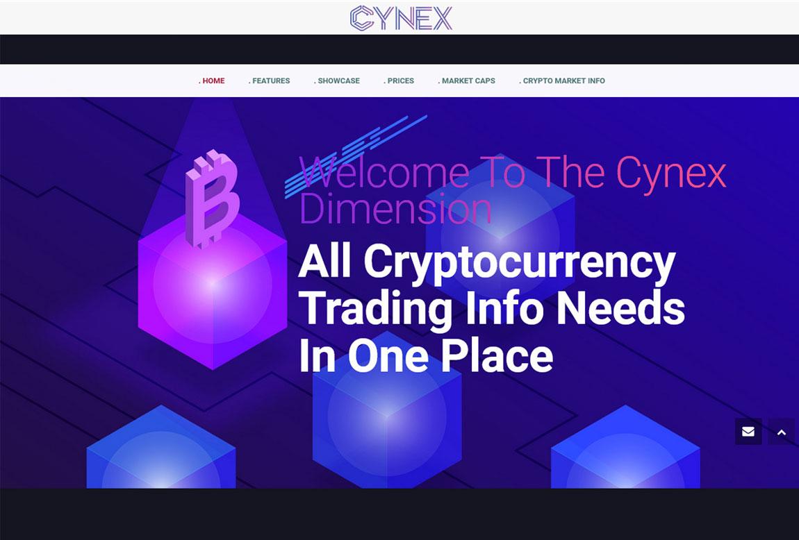 CYNEX: página web