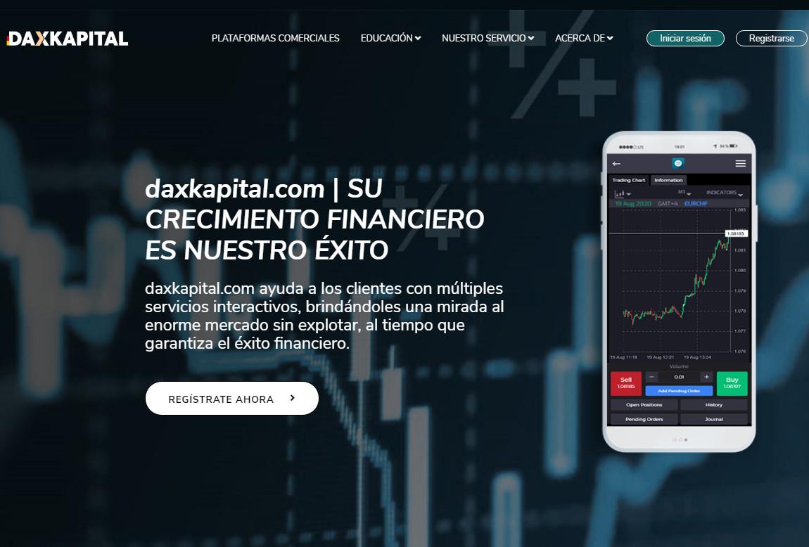 Dax Kapital: página web