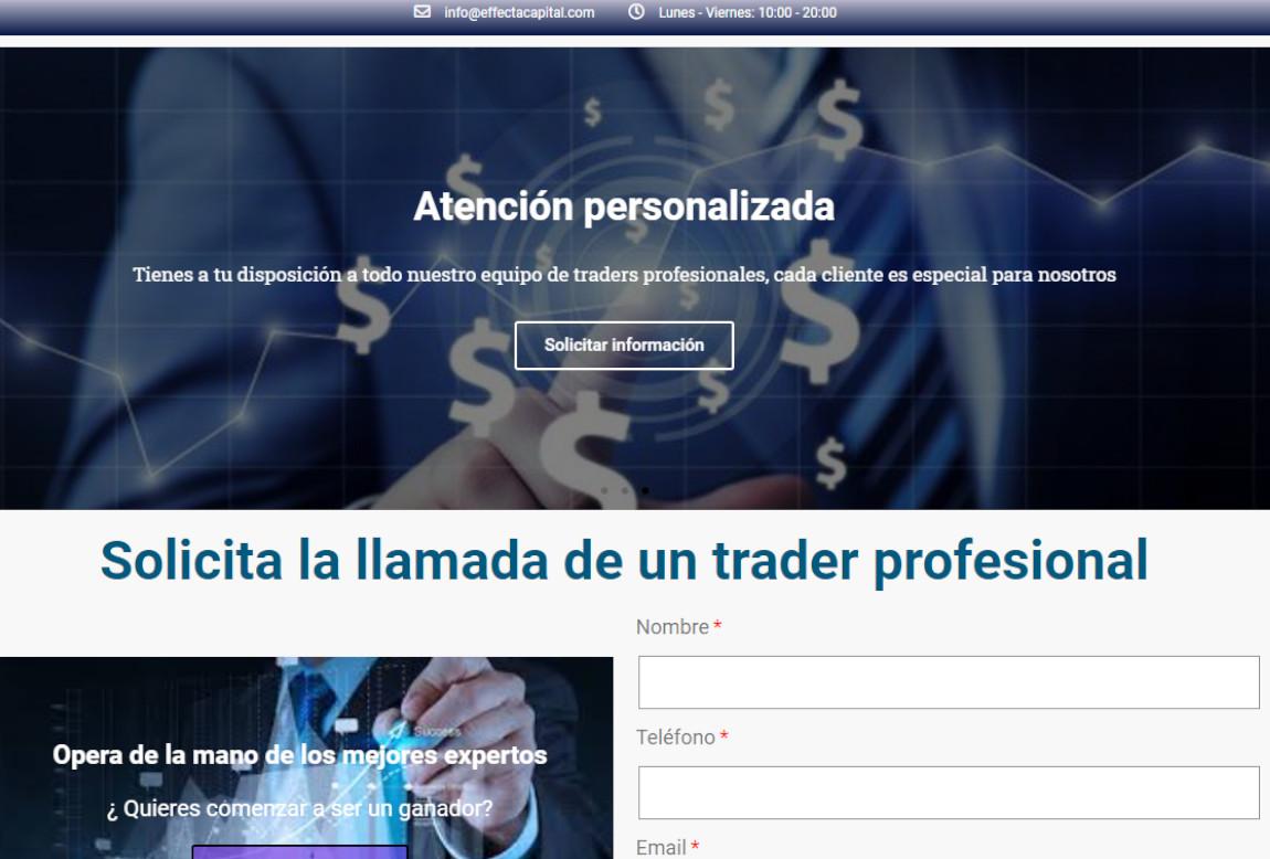 EffectaCapital: página web