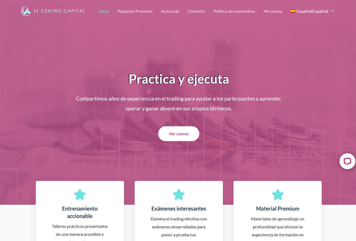 El Centro Capital: página web
