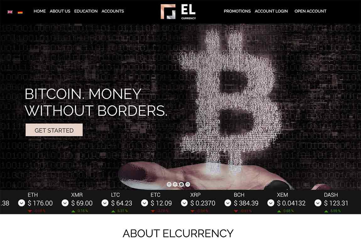 Elcurrency: página web