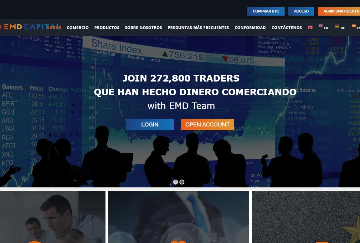 EMD Capital: página web