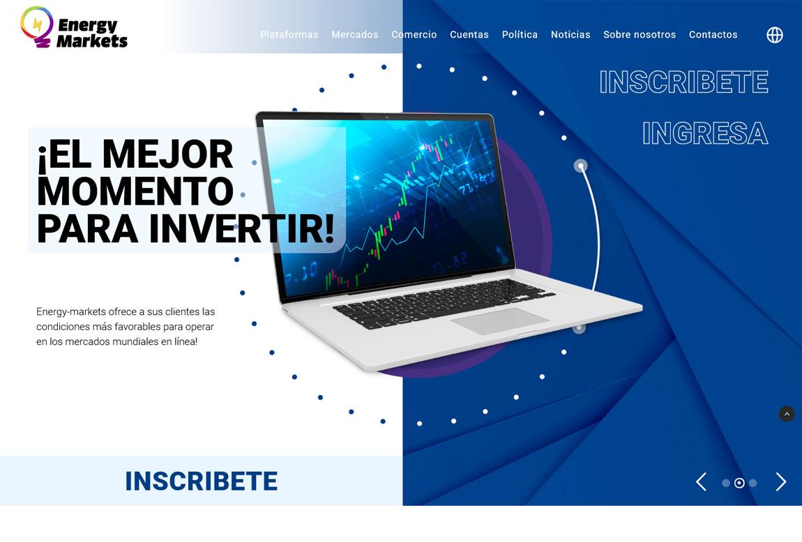 Energy Markets: página web