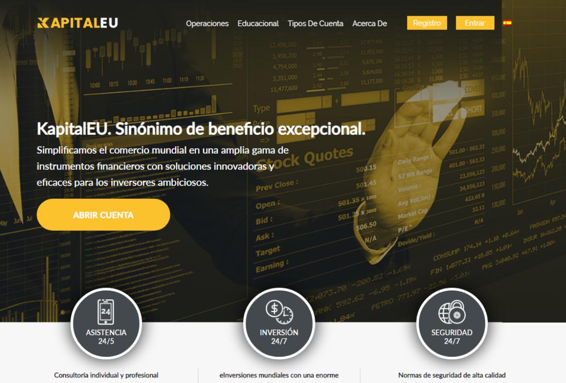 KapitalEU: página web