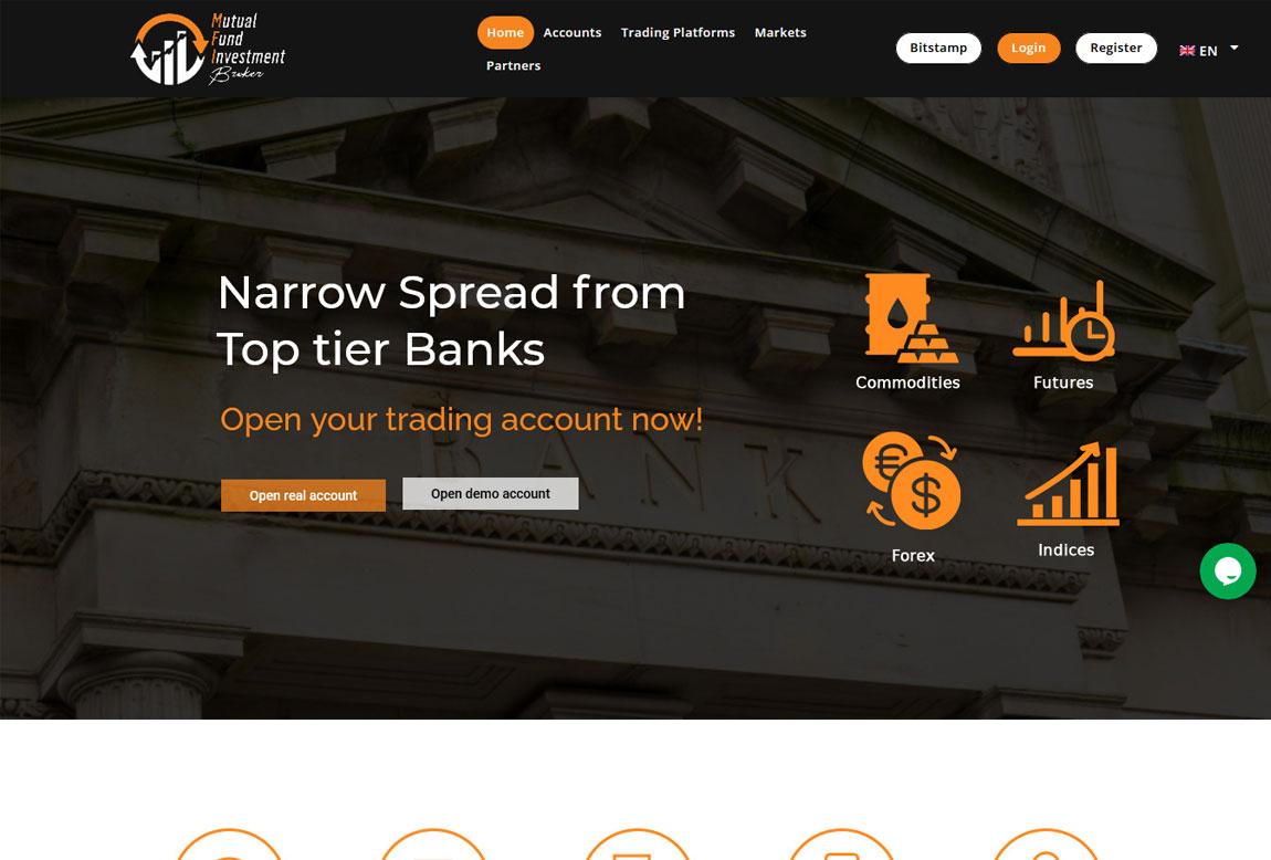 MFI Broker: página web