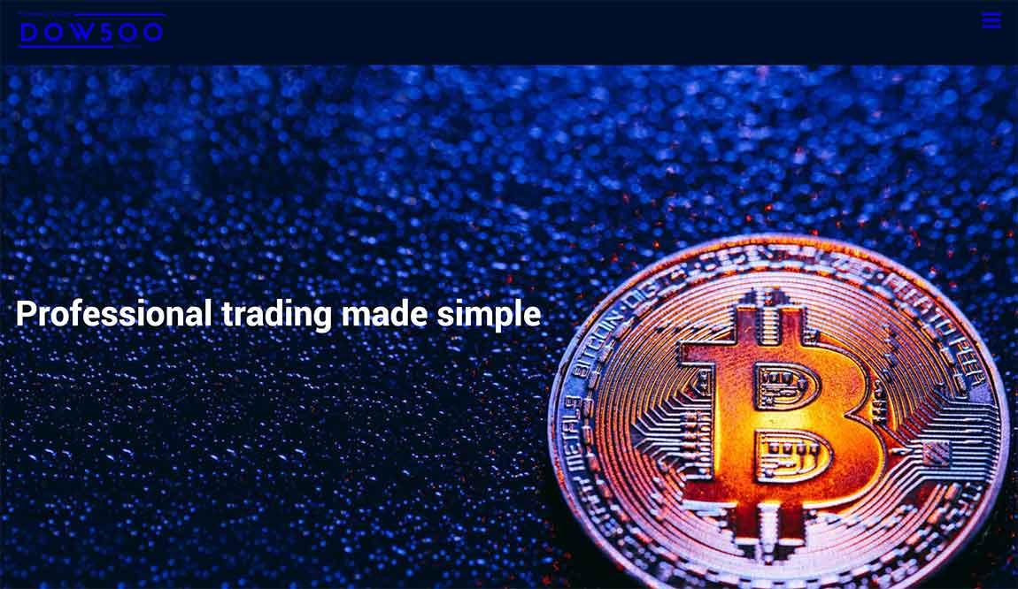 Dow500: página web