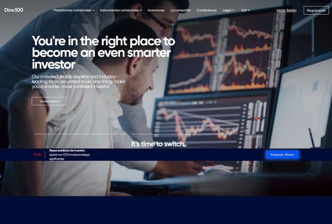Dow300: página web