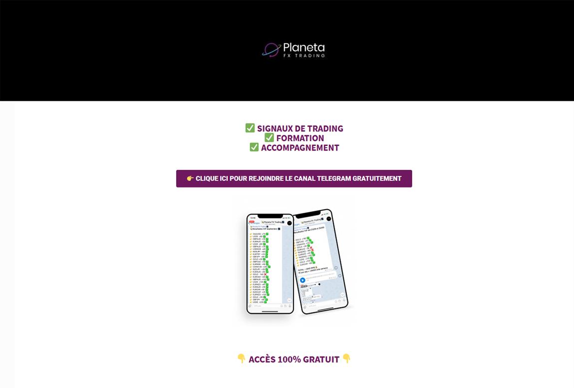 Planeta Fx Trading: página web