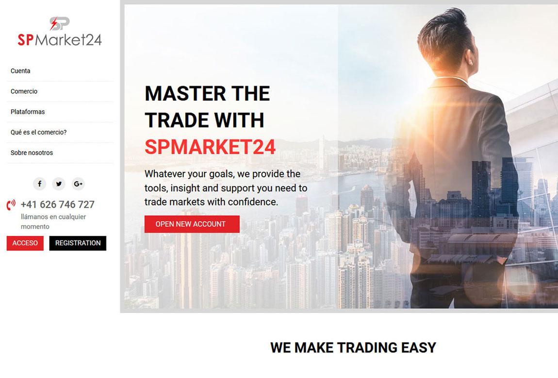 SP Market24: página web