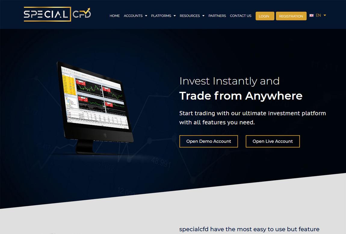 Specialcfd: página web