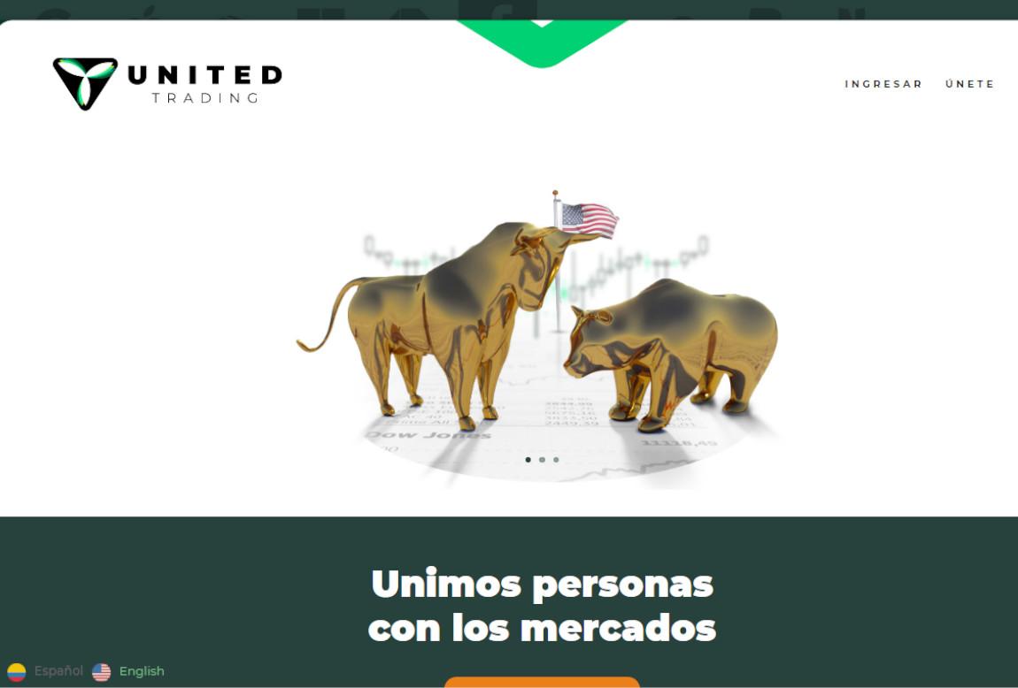 United Trading: página web